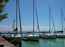 Silver Yacht kikötő - Balatonfüred
